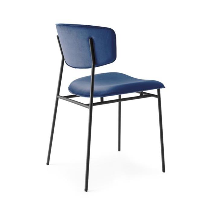 ghế ăn hiện đại chân sắt sơn tĩnh điện