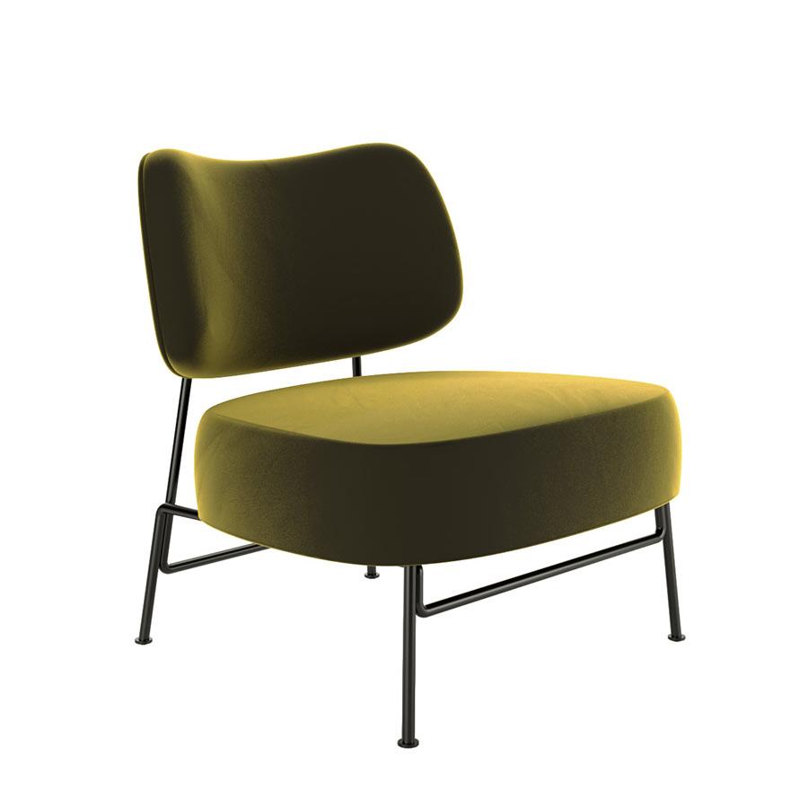 armchair phong khach phong cach industrial KPA32