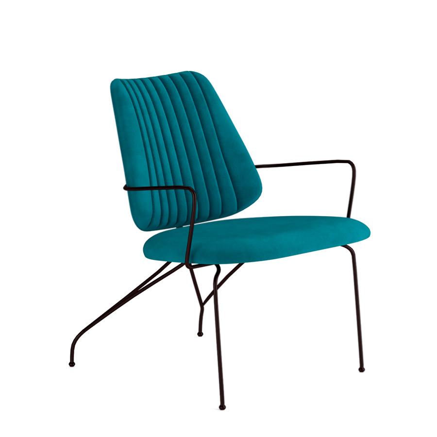 ghe arm chair phong khach scandinavian ivory
